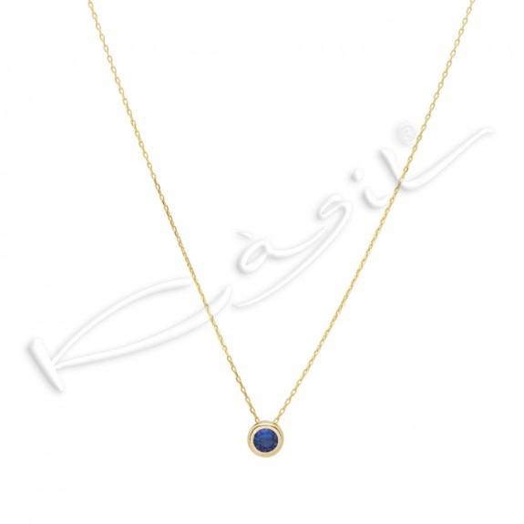 Колие Estrela blue