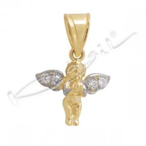 Ангелче с цирконии