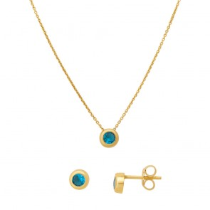 Комплект Estrela turquoise
